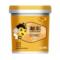 湘彩生态墙固_界面剂_墙面渗透固化剂_黄色墙固18公斤