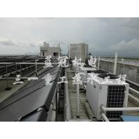 蓝冠机电三一重工太阳能+空气能热水工程