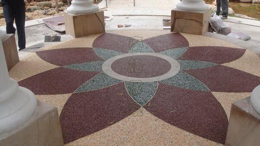彩色混凝土--上海路羿地坪