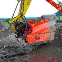 重金属土壤修复设备_污染土壤修复机械_挖机筛分搅拌铲斗