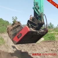 MM154临工铲车破碎斗 生活垃圾筛分机 土壤垃圾处理设备