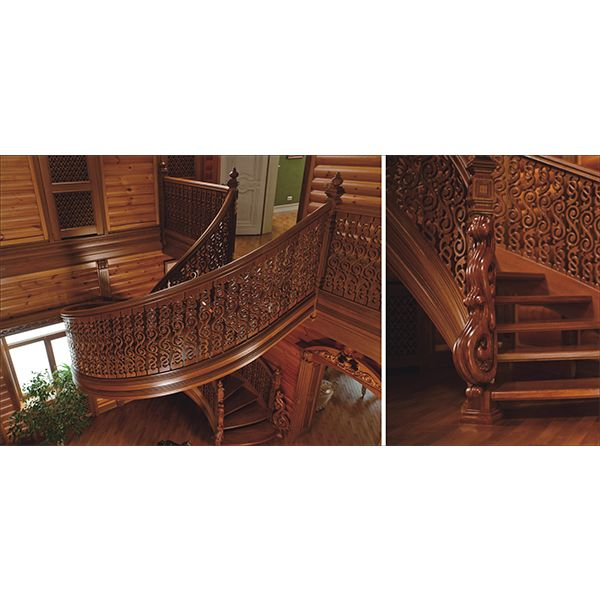 鸿森实木楼梯LT0005