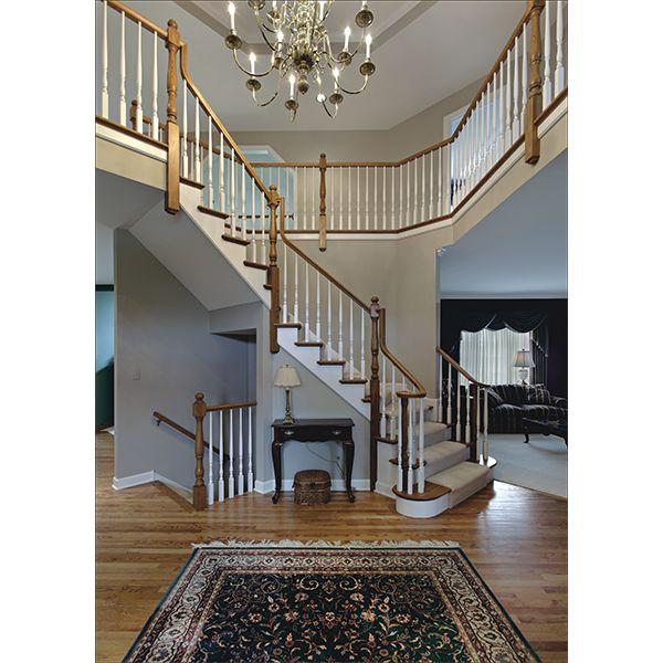 鸿森实木楼梯LT0006