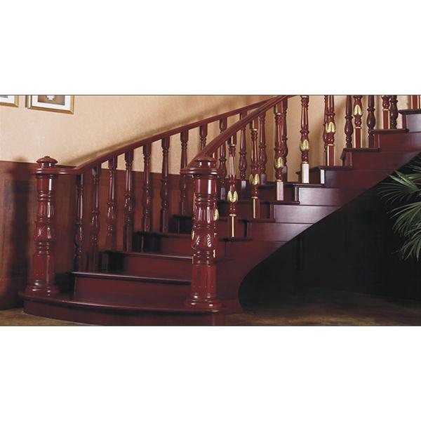 鸿森实木楼梯LT0007