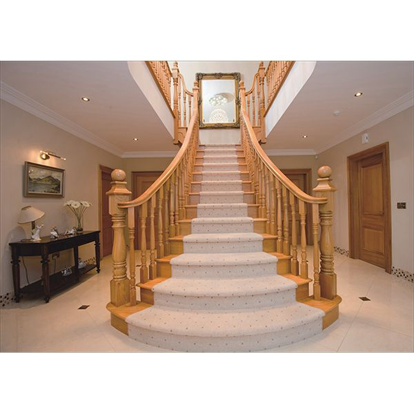 鸿森实木楼梯LT0009