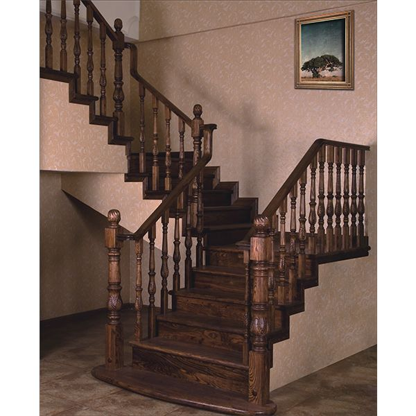 鸿森实木楼梯LT0015