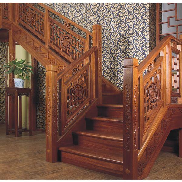鸿森实木楼梯LT0020