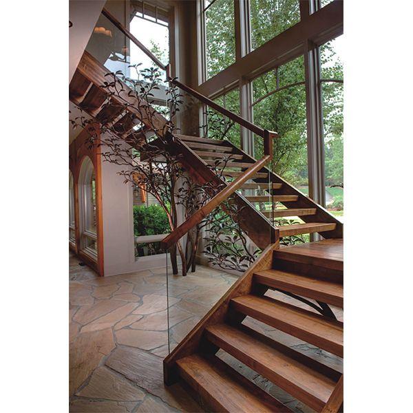 鸿森实木楼梯LT0022