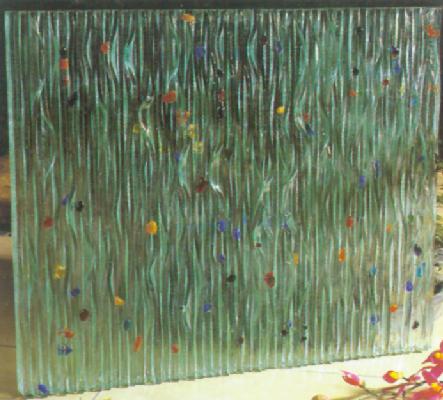 武汉工艺玻璃-武汉艺术玻璃-武汉明鸿玻璃-武汉热熔玻璃