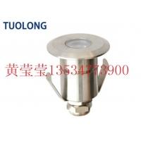 LED1*1W水底灯全不锈钢嵌入式水下地埋灯单色IP68