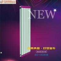 济南铜铝暖气片  铜铝复合80X80双剑散热器
