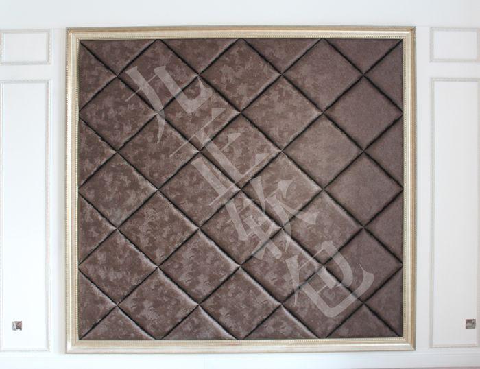 欧式菱形画壁贴图