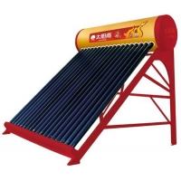 重庆太阳能热水器销售太阳雨-有保热墙的太阳能