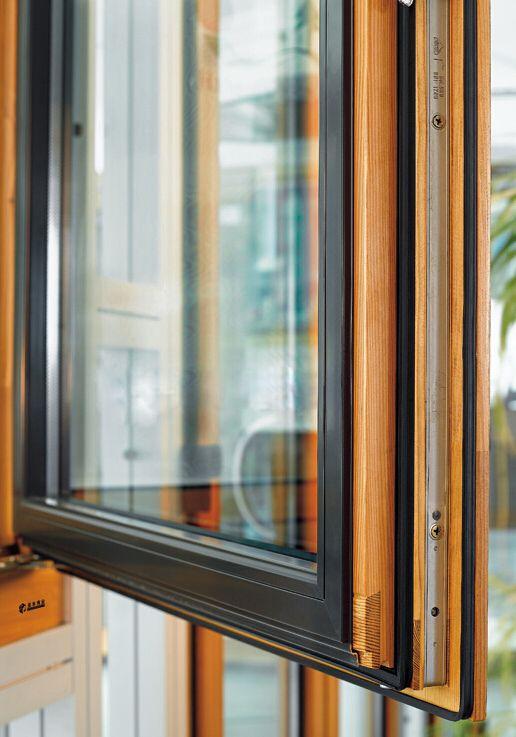 圣丰伟业85铝包木窗