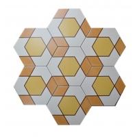六角砖全瓷瓷砖200X230MM拼花砖卧室客厅地砖阳