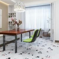 餐厅瓷砖纯色砖六角砖195X225x110瓷质砖吸水率低于0
