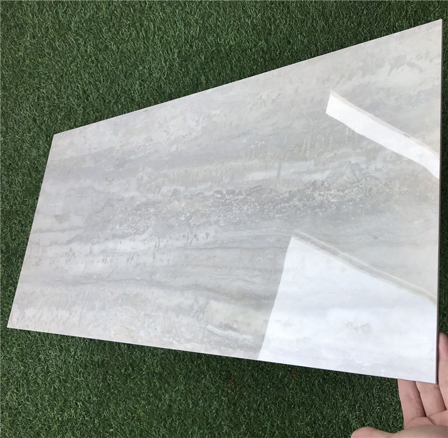 慕斯凯陶瓷灰色亮光内墙砖客厅瓷砖薄板400 800