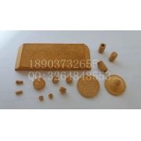 烧结柱 黄铜粉透气片 透气板 铜粉末冶金片 铜过滤片