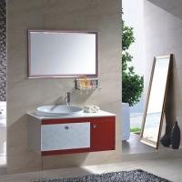 双层镜片A级天朗不锈钢浴室柜