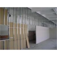 宁波轻钢龙骨隔墙,轻质砖隔墙写字楼装修