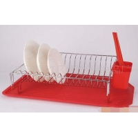 铁艺单层厨房置物架铁艺碗碟架