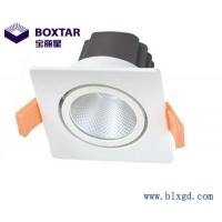 单颗25W可调向方形防眩光LED珠宝灯
