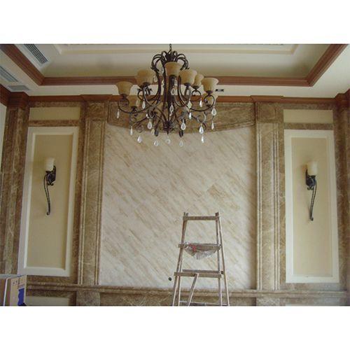 奇彩秀墙艺漆酒店案例图仿砂石系列