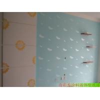 液体壁纸效果图,奇彩秀液体壁纸装修效果图