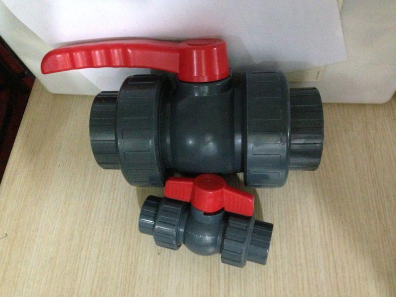 南亚塑料球阀pvc球阀活接球阀双由令球阀