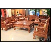 花梨木沙发,百子沙发,双面雕刻沙发
