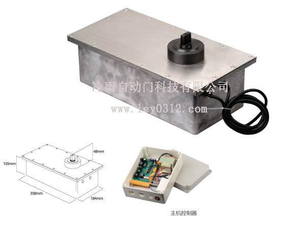 销售湛江铁艺门防水平开电动地弹簧