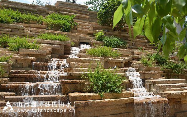 项目名称:广州汇悦台假山叠水景观,grc假山