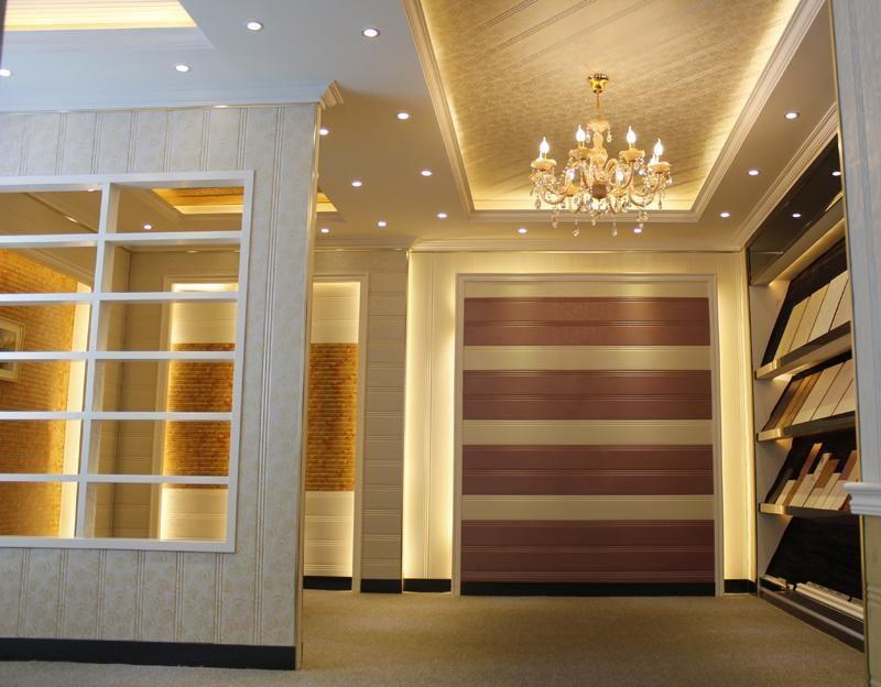 板材、聚氨酯和铝箔复合而成。本公司提供各种花色的集成墙面,能够充分满足您的装修需求,并且我们还提供特别订制服务!  产品用途: 本公司生产多功能节能保温板,可多功能应用,产品可以用在吊顶、护墙、隔断和各类背景等等;也可以替代家居装修用的木工板、矿棉板、石膏板、五合板以及各类吊顶铝合金扣板,完全达到装修不用油漆,省工、省钱更省时。并且,集成墙面(聚氨酯复合板)具有防潮、防腐、抗氧化、耐冲击力等特质,因此它也被广泛应用于大型工业厂房、冷库、车库、移动房屋、展馆、展馆、体育馆、购物中心、机场、电厂、别墅、医院、