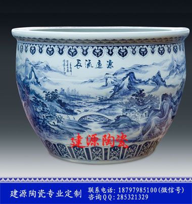 陶瓷大鱼缸 定做缸的厂家、价格、型号、图片、产地、品牌等信息!