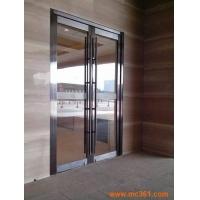 北京东城区玻璃门钢化玻璃门无框玻璃门