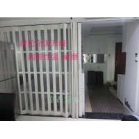 PVC折叠门厨房门卫生间移门仓库隔断门