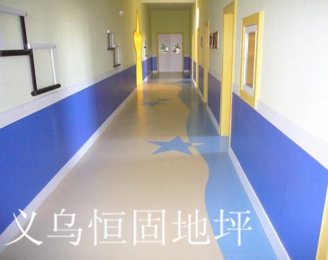 浙江地板温州pvc地板塑胶地板清洁度高使用快捷