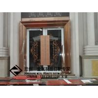 不锈钢酒店工程不锈钢大门不锈钢地弹簧门 ZC-DTH003