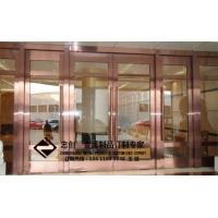 不锈钢酒店工程不锈钢大门不锈钢地弹簧门 ZC-DTH001