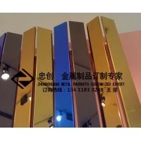 不锈钢酒店工程不锈钢大门不锈钢装饰线条 ZC-GT001