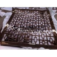 忠创不锈钢管材屏风 高级定制 ZC-GCPF001