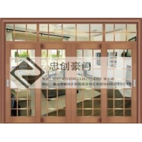 不锈钢酒店工程不锈钢大门不锈钢推拉门 ZC-TL001