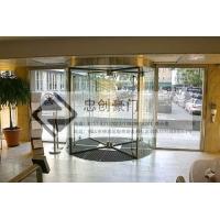 不锈钢酒店工程不锈钢大门不锈钢手动旋转门 ZC-SDXZ00
