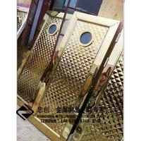不锈钢酒店工程不锈钢大门不锈钢合页门 ZC-HY001