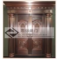 不锈钢酒店工程不锈钢大门铜门 ZC-TM001
