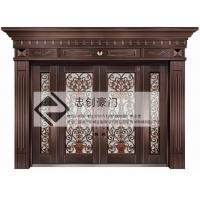 不锈钢酒店工程不锈钢大门铜门 ZC-TM002