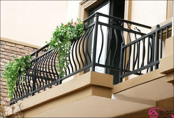 锌钢 铝合金阳台护栏 别墅栏杆 商品房锌钢护栏