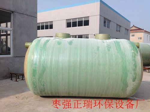 玻璃钢化粪池选用与埋设-正瑞