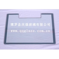 缺口钢化丝印玻璃