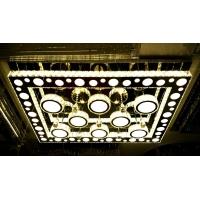 莱蒂斯-新款异性不锈钢切割LED水晶灯